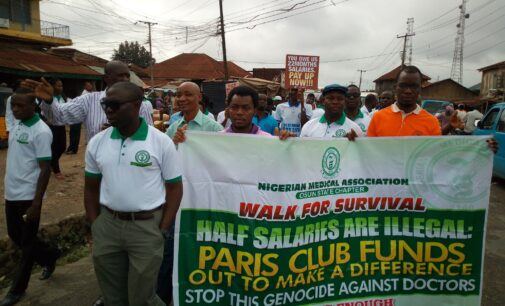 Osun doctors protest non-payment of salaries, poor hospital environment