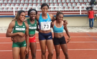 Okagbare, Egwero lead Team Nigeria to victory at Warri Relays