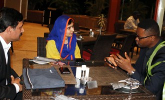 An evening with Malala