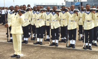 Nigerian navy currently recruiting graduates