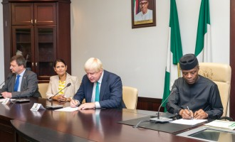 Osinbajo to investors: There are 'salivating opportunities' in Nigeria