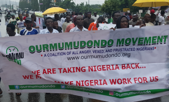 Police: We stopped anti-Buhari protest because it was hijacked by hoodlums