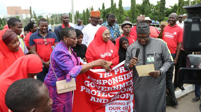 BBOG: No sign that govt is genuinely committed to the release of remaining Chibok girls