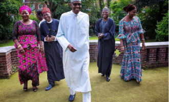 I feel I could go home but the doctors are in charge, says Buhari