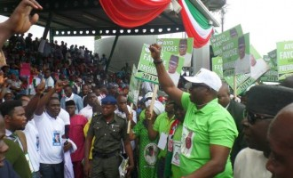 'I'm already in Aso Rock' — Fayose boasts at PDP convention