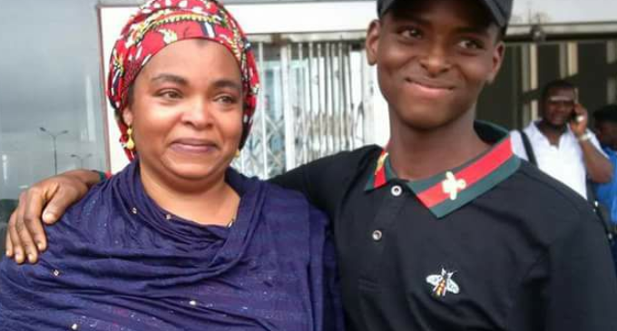 How mother reunited with missing son through Facebook after three years