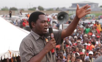 Zambia drops treason charges against opposition leader
