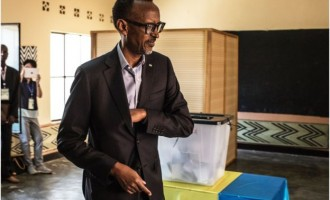 Rwanda's Paul Kagame re-elected president for seven more years