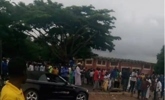 VIDEO: The attack on anti-Buhari protesters led by Charly Boy