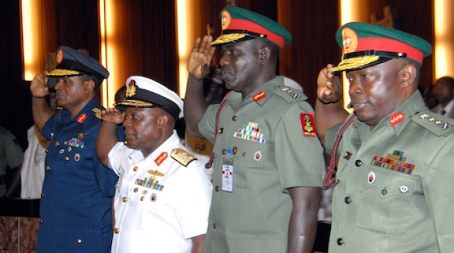 Service chiefs arrive in Maiduguri — five days after relocation order