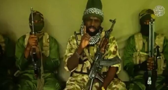 Shekau threatens journalists, minister in new video, says Buhari is in big trouble
