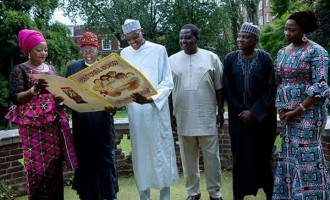 Buhari's reunion with his media team