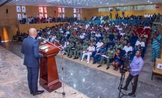 Elumelu: Our military facilities comparable to what I see in Europe
