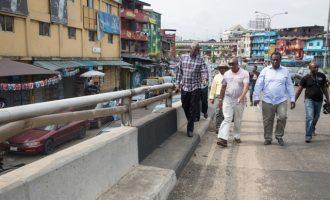 FG begins emergency repair of Lagos roads, bridges