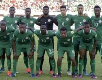 FIFA world rankings: Nigeria drop six places to 44th