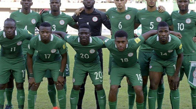 Nigeria up to 41st in latest FIFA rankings
