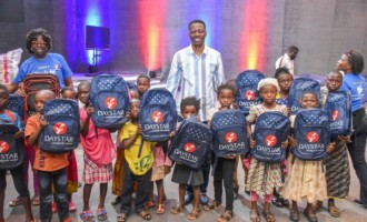 Daystar donates school materials to 20,000 children