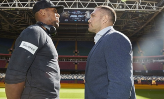 Joshua-Pulev fight breaks Muhammad Ali's attendance record