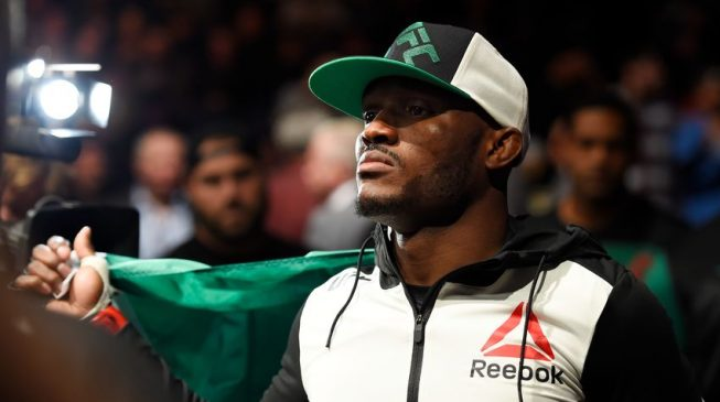 VIDEO: Nigeria's UFC fighter, Usman, vows to prove 'Naija no dey carry last'