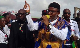 Nnamdi Kanu says Atiku is originally from Cameroon