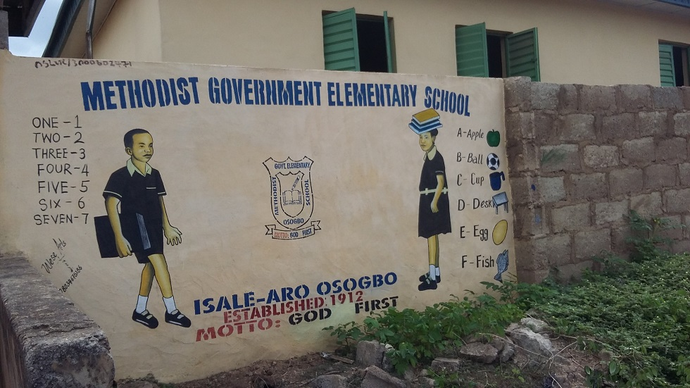 Methodist primarySchool, IsaleAro