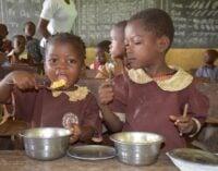 Osun school feeding programme going well — but under threat from vendors, teachers