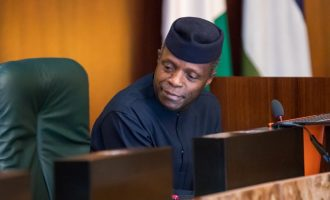 I will waive my immunity to be investigated, says Osinbajo