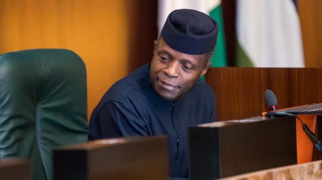 Osinbajo: We expect private sector to invest $19bn in Nigeria by 2020
