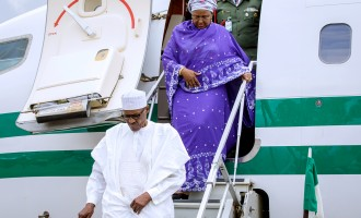 TRENDING: Aisha Buhari shares videos ridiculing husband on social media