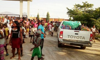 Benue IDPs prevent 'diversion' of relief materials