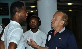 Rohr: Mikel told me he is not ready to return to Super Eagles