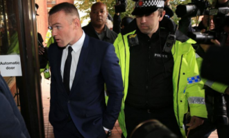 Rooney pleads guilty to drink-driving, gets two-year road ban
