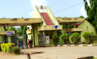Rufus Giwa Polytechnic lecturers begin indefinite strike