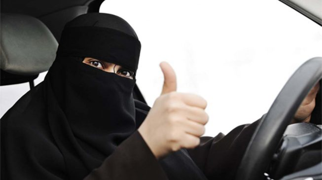 Saudi Arabian women to drive cars — first time in history