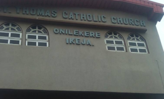 Gunmen invade Catholic church in Lagos, shoot priest