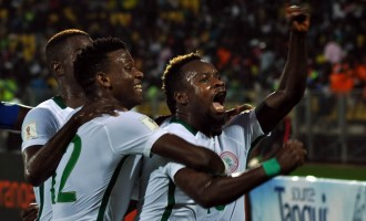 Nigeria held to 1-1 draw by Cameroon in second leg of WC qualifier
