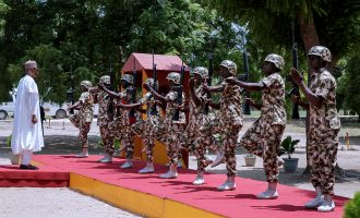 Buhari 'looking into' poor welfare of soldiers fighting Boko Haram