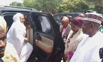 'I'm still using my personal cars' — Aisha Buhari denies Misau's allegation