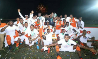 Akwa United defeat Niger Tornadoes on penalties to win Aiteo Cup
