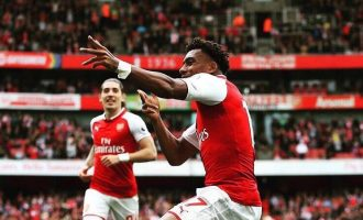 Arsenal's EPL target is top four, says Iwobi