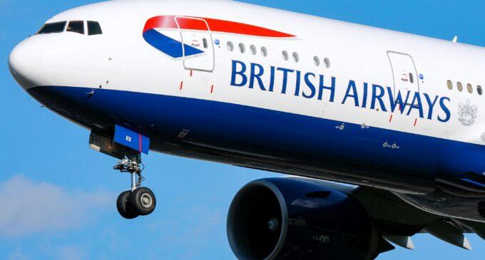 British Airways suspends direct flights to China over coronavirus outbreak