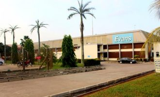 Two banks take over Evans Medical Plc