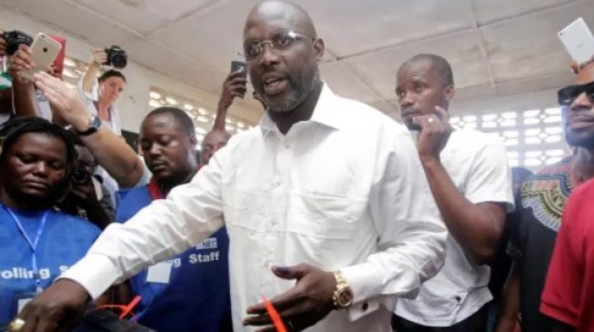 Buhari congratulates Weah on winning historic election