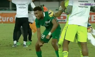 'I almost cried' — Iwobi relives goal against Zambia