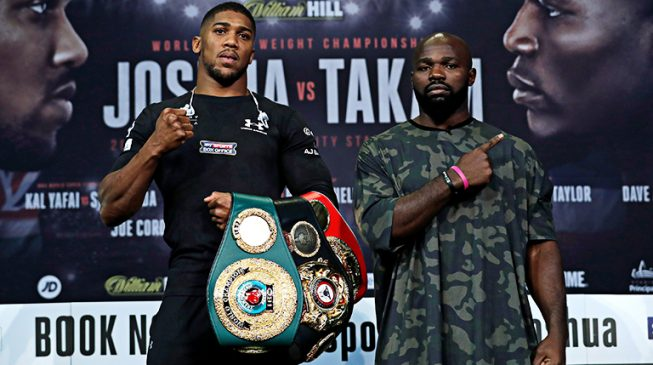 Dalung: Joshua's defeat of Takam will confirm Nigeria's superiority over Cameroon