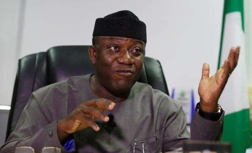Fayemi cuts salaries of Ekiti political appointees by 50 percent