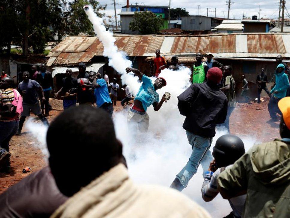 Kenyans clash during election re-run