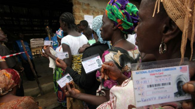 Liberians head to polls to elect Sirleaf's successor