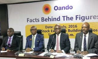 NSE partially lifts suspension on Oando's shares