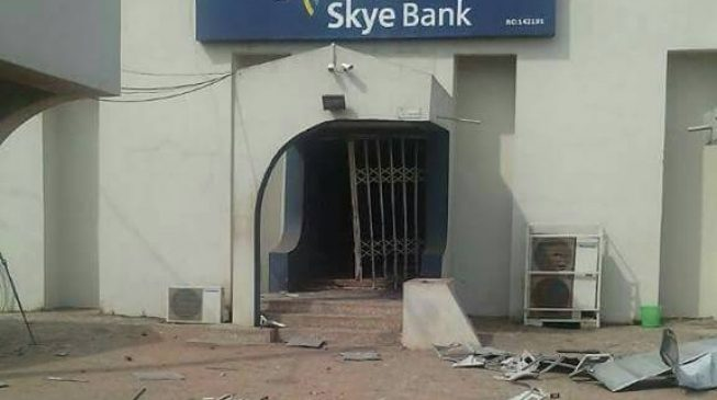 Two policemen shot dead as 'robbers' invade Ondo bank